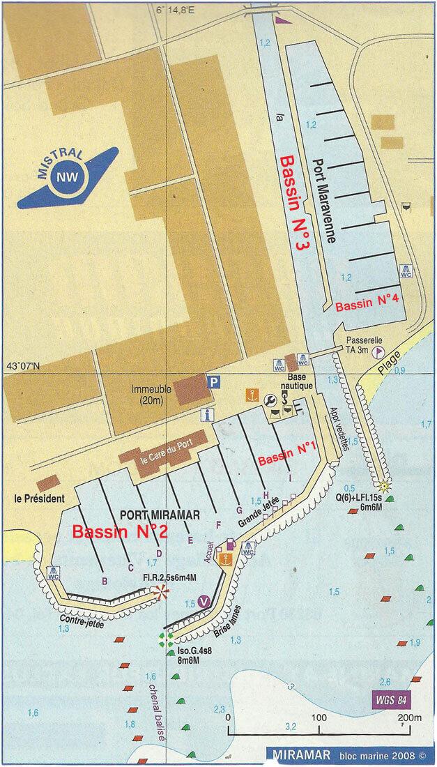 plan des ports